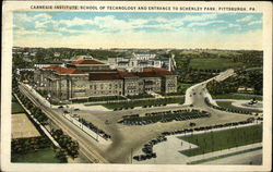 Carnegie Institute, School of Technology, Enytrance to Schenley Park