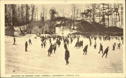 Cornell University - Skating on Beebee Lake