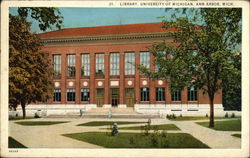 Library at the University of Michigan