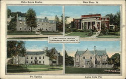 Fraternity Houses of University of Illinois