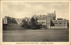 Wellesley College - Severance Hall and Tower Court