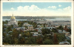Bird's Eye View of US Naval Academy