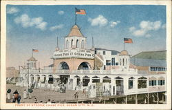 Front of Steeple Chase Pier