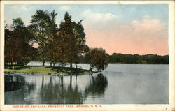 Scene on the Lake, Prospect Park