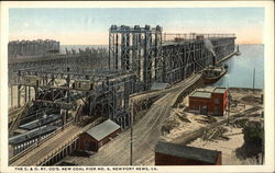 The C. & O. Ry. Co's. New Coal Pier No. 9