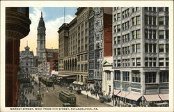 Market Street, West from 11th Street
