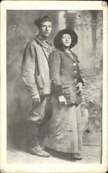 Hubert G. A. Hassler and His Wife