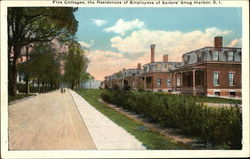 Five Cottages, The Residences of Employees of Sailors' Snug Harbor
