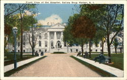 Front View of the Hospital at Sailors Snug Harbor