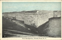 Fort Montgomery Postcard