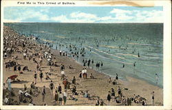 Find Me in this Crowd of Bathers, Hampton Beach