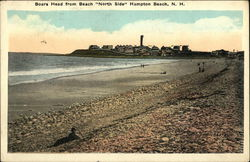 "Boars Head from Beach ""North Side"" Postcard"