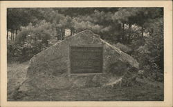 The Boulder, Cathedral of the Pines Postcard