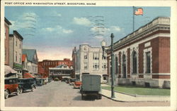 Post Office and Washington Street