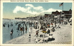 Bathers and Crowd, Ocean Beach