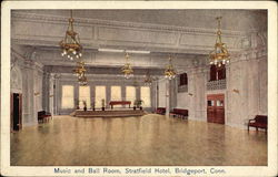 Music and Ball Room, Stratfield Hotel