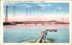 The New Little Bay Bridge, Dover - Portsmouth, N.H. Highway