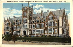 Salvation Army College, Andrews Avenue and West Tremont Avenue