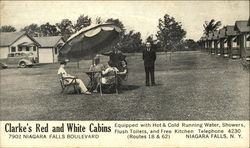 Clarke's Red and White Cabins, 7902 Niagara Falls Boulevard