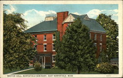 Weston Hall, Northfield Seminary
