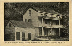 Rip Van Winkle Home, Sleepy Hollow Road, Catskill Mountains