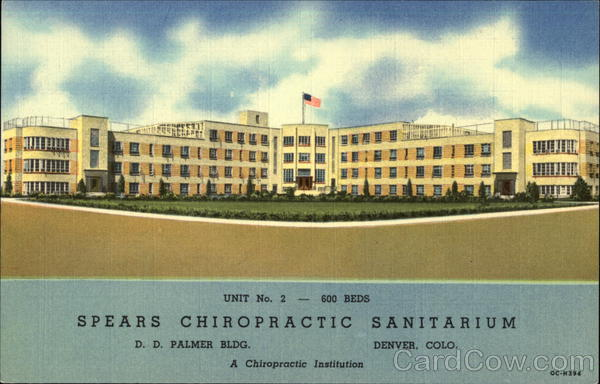 Spears Chiropractic Sanitarium Denver Colorado