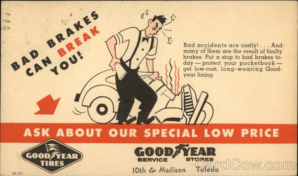 Bad Brakes Can Break You - Goodyear Tires -Goodyear Service Stores