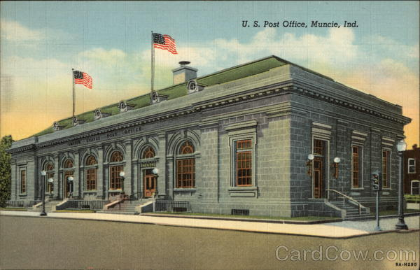 U.S. Post Office Muncie Indiana