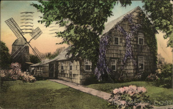 Home, Sweet Home and the Old Windmill East Hampton New York