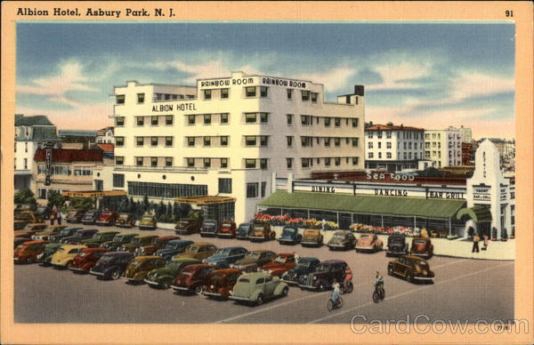 Street View of Albion Hotel Asbury Park New Jersey