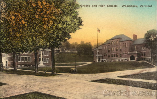 Graded and High Schools Woodstock Vermont