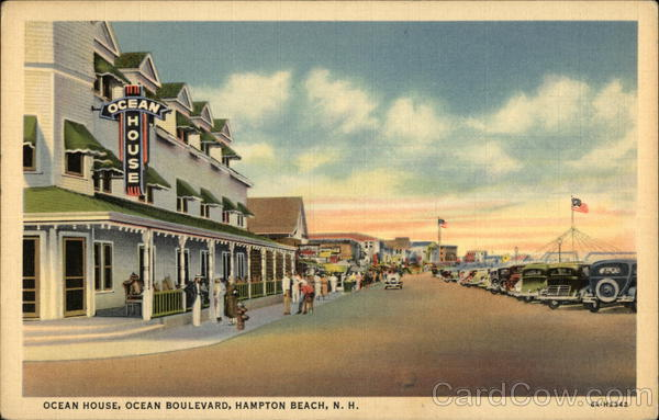 Ocean House, Ocean Boulevard Hampton Beach New Hampshire