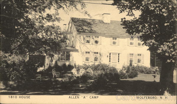 1810 House - Allen A Camp Wolfeboro New Hampshire