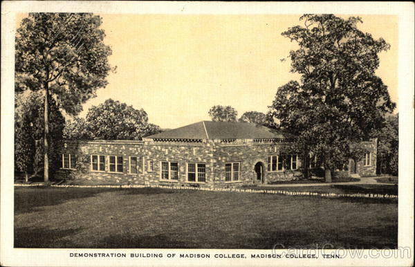 Demonstration Building of Madison College Tennessee