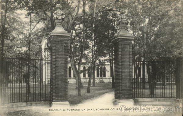Franklin C Robinson Gateway, Bowdoin College Brunswick Maine