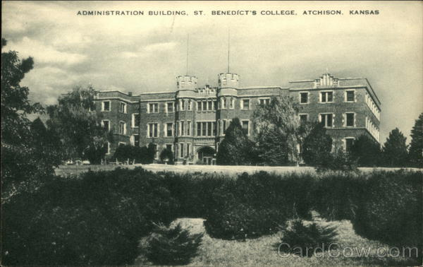 St. Benedicts college, 1911-12 (9/10) | A closeup of the