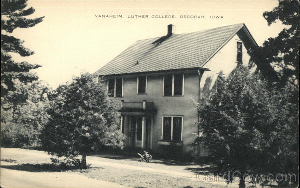 Vanaheim, Luther College Decorah Iowa