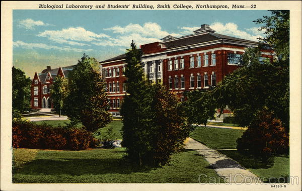 Biological Laboratory and Students' Building, Smith College Northampton Massachusetts