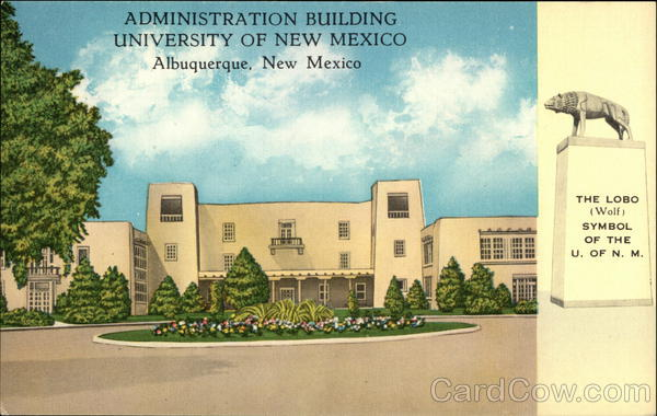 University of New Mexico - Administration Building Albuquerque
