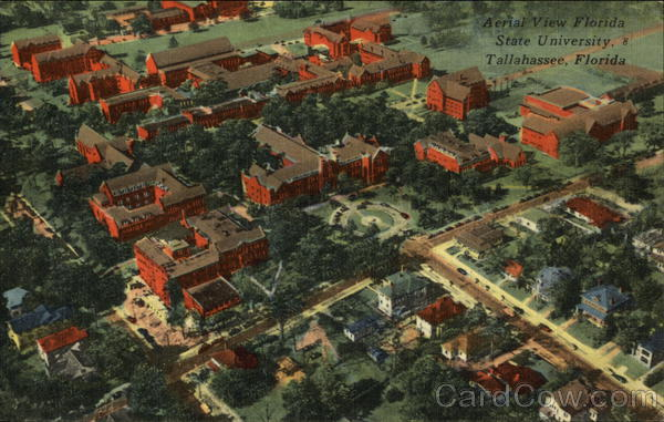 Aerial View of Florida State Unviersity Tallahassee