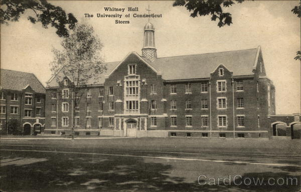 Whitney Hall, The Univesity of Connecticut Storrs