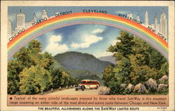Rainbow - The Beautiful Alleghenies Along the SafeWay Limited Route
