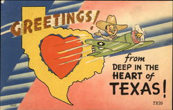 Greetings from Deep in the Heart of Texas
