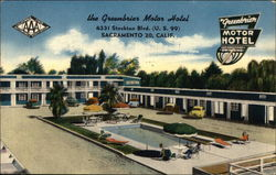 The Greenbrier Motor Hotel, 4331 Stockton Blvd. (U, S. 99)