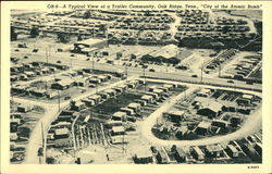 "Typical View of a Trailer Community in the ""City of the Atomic Bomb"""