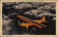 Piper Cruiser Airplane, Made in Lock Haven, PA