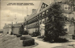 Lewis and Thatcher Dormitories, Mass State College