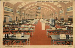 Chanute Field - Interior, Main Mess Hall