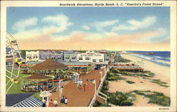 Boardwalk Attractions, Myrtle Beach, S.C.