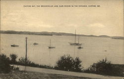 Castine Bay, The Brookvilles and Cape Rozier in the Distance